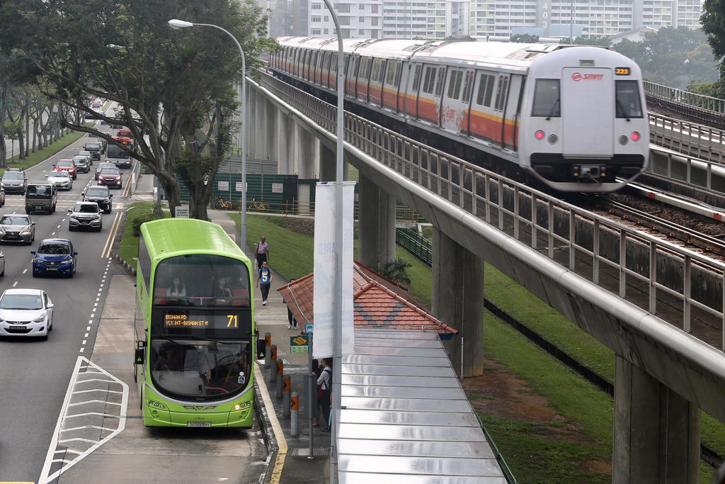Public Transportation in Singapore